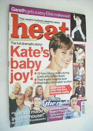 Heat magazine - Kate Moss cover (12-18 October 2002)
