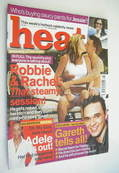 Heat magazine - Robbie Williams and Rachel Hunter cover (13-19 July 2002)
