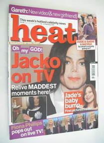 <!--2003-02-15-->Heat magazine - Michael Jackson cover (15-21 February 2003