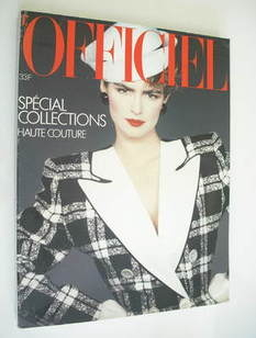 L'Officiel Paris magazine (March 1983)