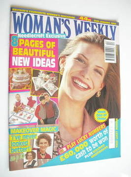<!--1994-01-25-->Woman's Weekly magazine (25 January 1994)