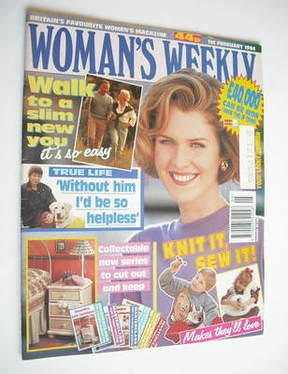 <!--1994-02-01-->Woman's Weekly magazine (1 February 1994)