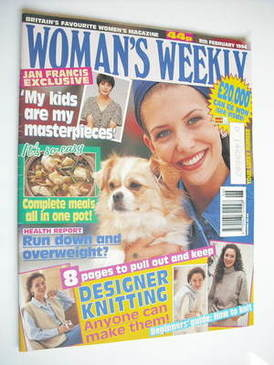<!--1994-02-08-->Woman's Weekly magazine (8 February 1994)