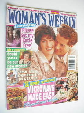 <!--1994-02-15-->Woman's Weekly magazine (15 February 1994)