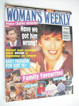 <!--1994-02-22-->Woman's Weekly magazine (22 February 1994)
