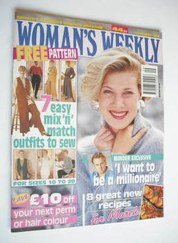 <!--1994-03-01-->Woman's Weekly magazine (1 March 1994)