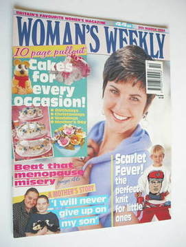 <!--1994-03-08-->Woman's Weekly magazine (8 March 1994)
