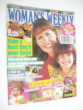 <!--1994-03-29-->Woman's Weekly magazine (29 March 1994)