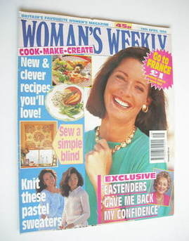 <!--1994-04-19-->Woman's Weekly magazine (19 April 1994)