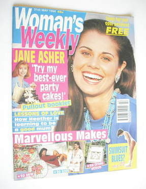 <!--1994-05-31-->Woman's Weekly magazine (31 May 1994)