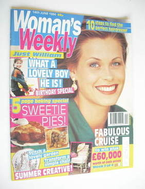 <!--1994-06-14-->Woman's Weekly magazine (14 June 1994)
