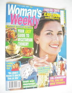 <!--1994-06-21-->Woman's Weekly magazine (21 June 1994)
