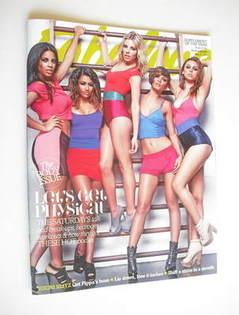 Fabulous magazine - The Saturdays cover (22 May 2011)