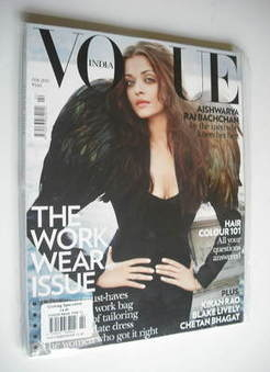 Vogue India magazine - February 2011 - Aishwarya Rai Bachchan cover