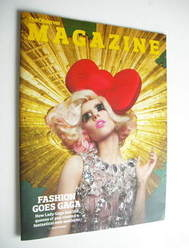 <!--2011-03-20-->The Observer magazine - Lady Gaga cover (20 March 2011)
