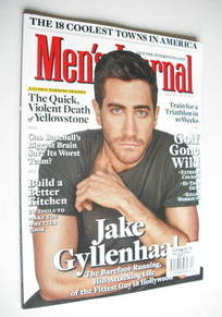 <!--2011-04-->Men's Journal magazine - April 2011 - Jake Gyllenhaal cover