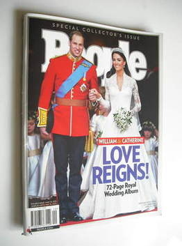 <!--2011-05-16-->People magazine - Prince William and Kate Middleton cover