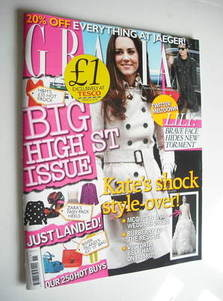 Grazia magazine - Kate Middleton cover (21 March 2011)