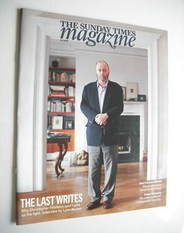 <!--2011-03-06-->The Sunday Times magazine - Christopher Hitchens cover (6