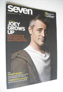 Seven magazine - Matt LeBlanc cover (9 January 2011)
