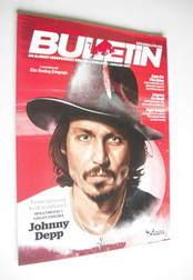 The Red Bulletin magazine - January 2011 - Johnny Depp cover