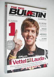 The Red Bulletin magazine - March 2011 - Sebastian Vettel cover