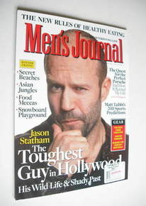 Men's Journal magazine - February 2011 - Jason Statham cover
