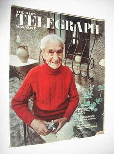 <!--1971-03-19-->The Daily Telegraph magazine - Jacques Henri Lartigue cove