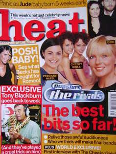 <!--2002-09-21-->Heat magazine - Popstars The Rivals The Best Bits So Far!