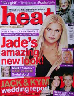 <!--2002-08-17-->Heat magazine - Jade Goody cover (17-23 August 2002 - Issu