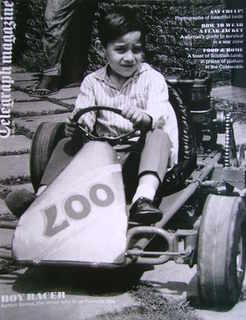 <!--2011-05-21-->Telegraph magazine - Ayrton Senna cover (21 May 2011)