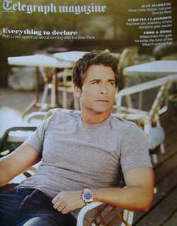 <!--2011-05-14-->Telegraph magazine - Rob Lowe cover (14 May 2011)