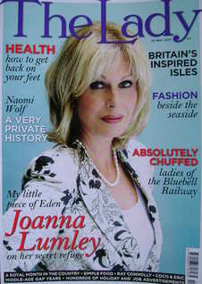 The Lady magazine (10 May 2011 - Joanna Lumley cover)