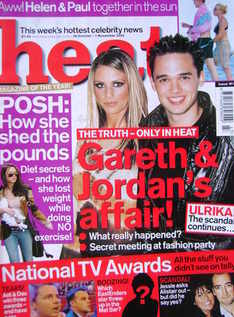<!--2002-10-26-->Heat magazine - Jordan and Gareth Gates cover (26 October-