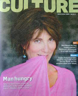 <!--2011-05-08-->Culture magazine - Eve Best cover (8 May 2011)