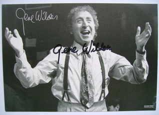 Gene Wilder autograph (hand-signed photograph)