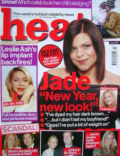 <!--2003-01-18-->Heat magazine - Jade Goody cover (18-24 January 2003 - Iss