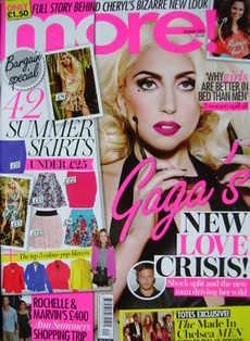 <!--2011-05-23-->More magazine - Lady Gaga cover (23 May 2011)