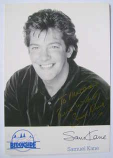 Sam Kane autograph