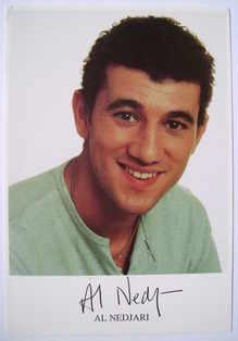 Al Nedjari autograph (ex Coronation Street actor)