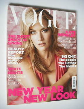 <!--2007-01-->British Vogue magazine - January 2007 - Kate Winslet cover