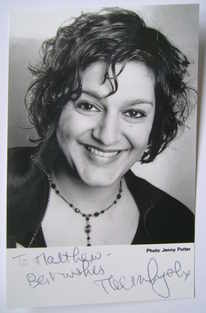 Meera Syal autograph