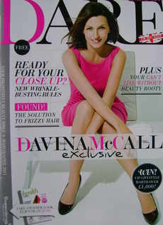 Dare magazine - Davina McCall cover (March/April 2011)