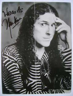 """Weird Al"" Yankovic autograph (signed photograph)"
