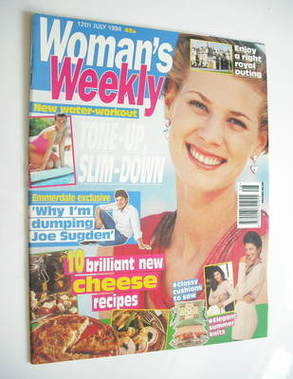 <!--1994-07-12-->Woman's Weekly magazine (12 July 1994)