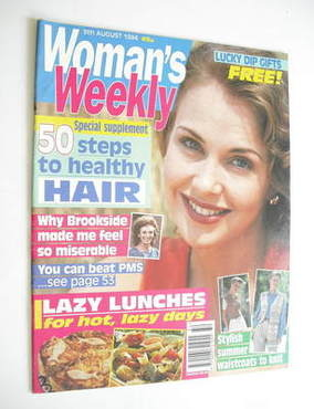 <!--1994-08-09-->Woman's Weekly magazine (9 August 1994)