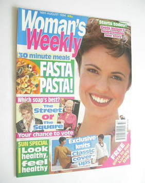 <!--1994-08-16-->Woman's Weekly magazine (16 August 1994)