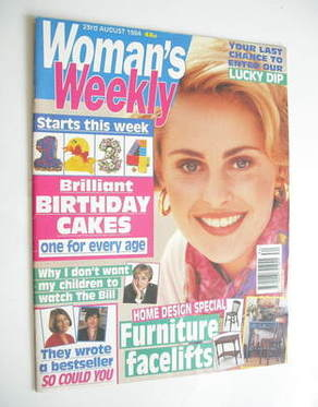 <!--1994-08-23-->Woman's Weekly magazine (23 August 1994)