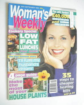 <!--1994-09-20-->Woman's Weekly magazine (20 September 1994)