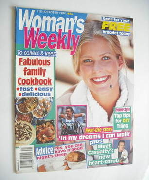 <!--1994-10-11-->Woman's Weekly magazine (11 October 1994)
